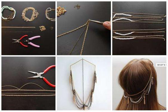 15 Accessoires à cheveux DIY qui vous feront craquer: