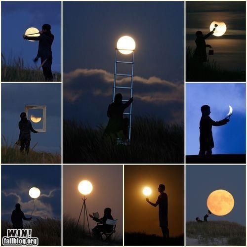 Well done.: Favorite Places, Photo Ideas, Moon, Photography Art, Artsy Fartsy, The Moon, Picture Ideas, Photography Ideas