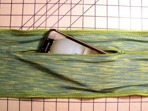 finished DIY running belt :: Craftsy