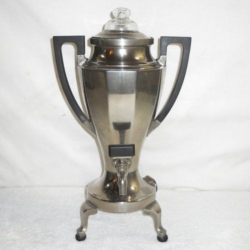 Old Coffee Makers ~ Percolator coffee maker and antiques on
