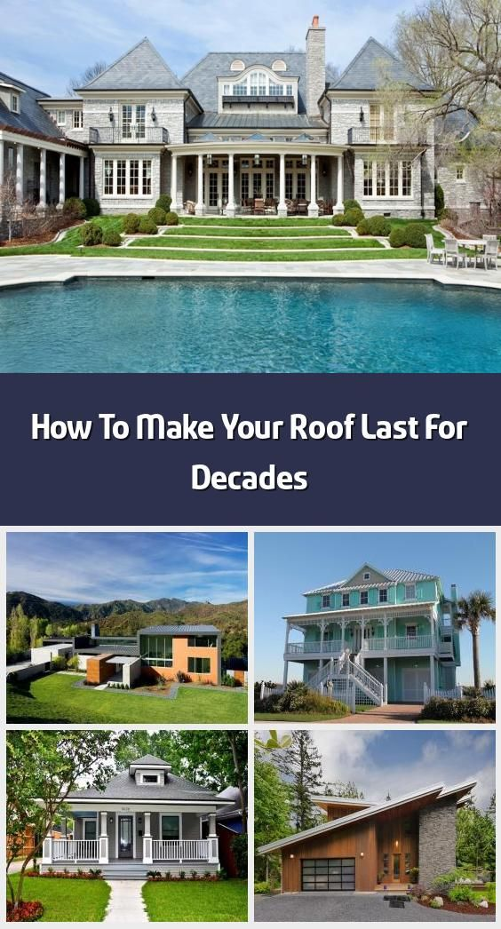 How To Make Your Roof Last For Decades A Well Maintained Roof Is The Capping Feature Of Any Home Image Via In 2020 Roof Replacement Cost Roof Roof Maintenance