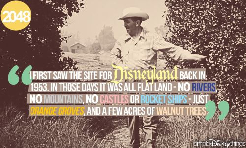 Happy (one-day belated) 57th Birthday Disneyland!