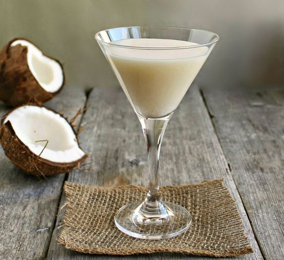 The Onyx cocktail with Patron XO Cafe and coconut milk + #punk #indie Spotify playlist #music Bishop & Rook