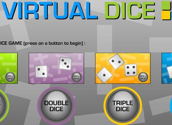 virtual double dice roller
