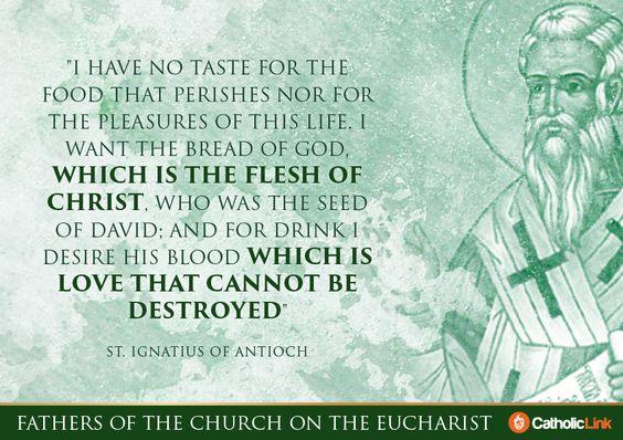 library.catholic-link.org  9 van de diepgaandste citaten van de kerkvaders over de Eucharistie