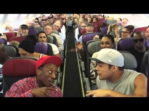 "Watch the whole incredible video HERE! | The Cast Of ""The Lion King"" Musical Sang On A Plane And It Was Like All Your Dreams Coming True At Once"