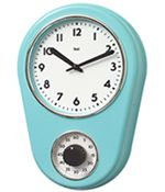 Kitchen Timer Retro Wall Clock $35