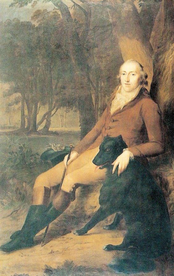 Friedrich Georg Weitsch (1758–1828), Carl Friedrich Gebhard Graf von der Schulenburg-Wolfsburg, etwa 1810 (Privatbesitz)