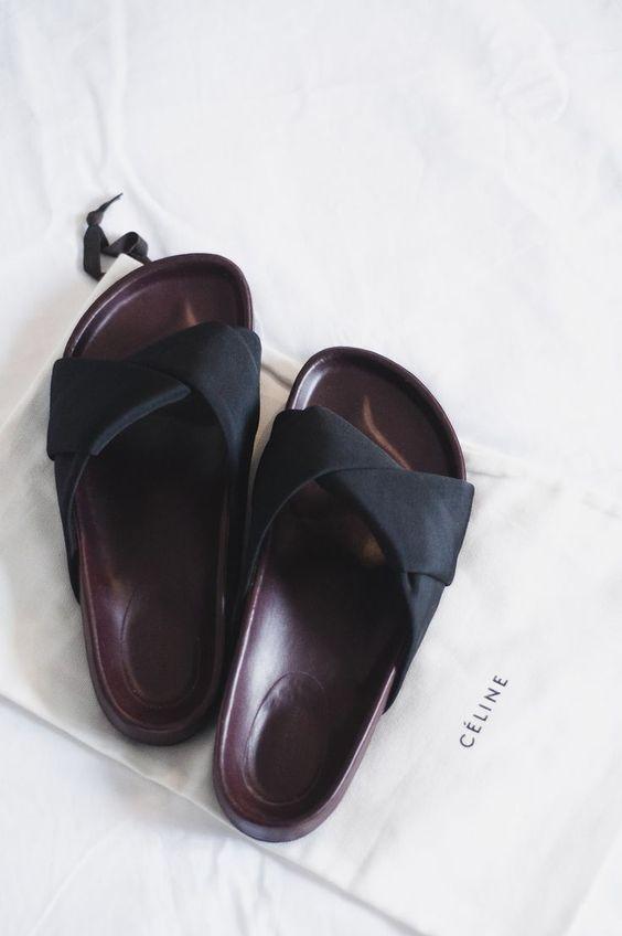 celine wallets online - The Blab   Celine, Sandals and Slide Sandals