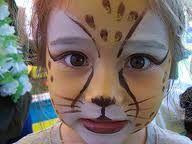 cheetah face paint