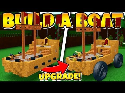 I Gave The Bab Boat An Upgrade Super Op Build A Boat For