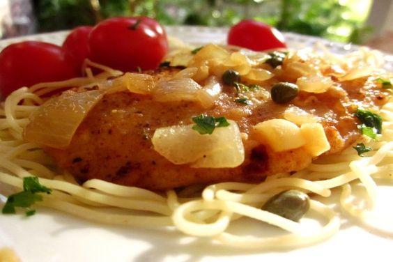 Favorite Jeff Smith-The Frugal Gourmet. CHICKEN PICCATA RECIPE