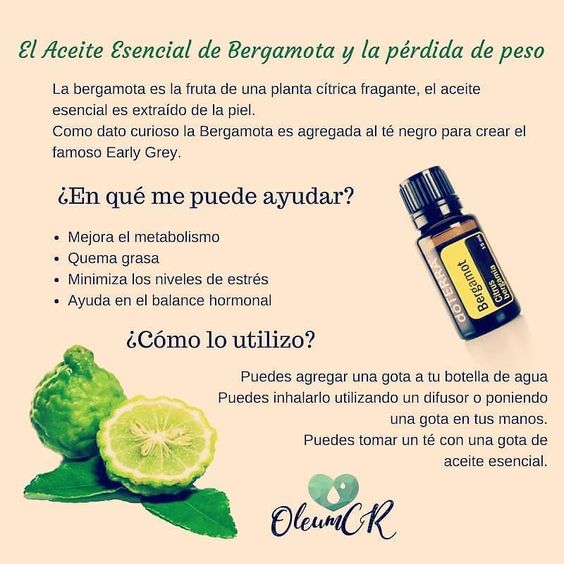 Para Qué Te Sirve El Aceite De Bergamota Metabolismo Quemagrasa Desestre Aceite De Bergamota Aceite Esencial De Bergamota Recetas De Aceites Esenciales