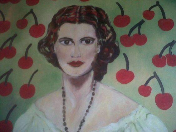 cherry cherry lady SOLD