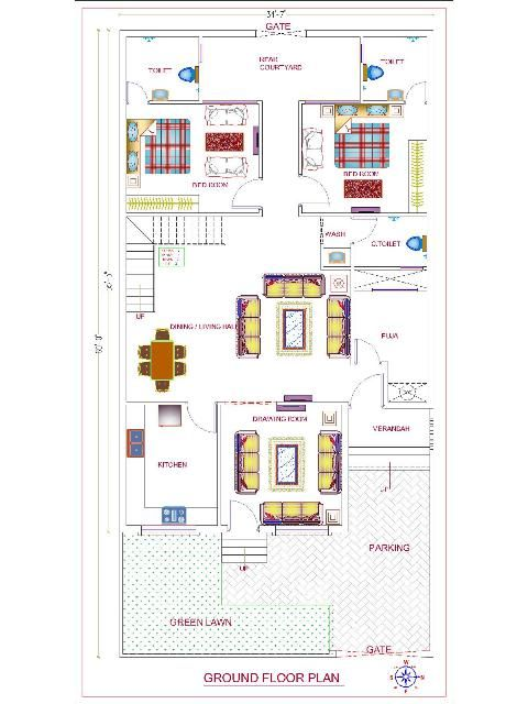 Readymade Floor Plans Readymade House Design Readymade House Map Readymade Home Plan In 2020 Duplex House Plans House Plans Double Storey House