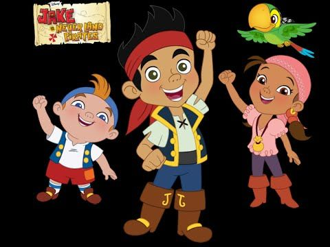 Disney Jake and the Neverland Pirates_Coloring Pages for kids 2015 - YouTube