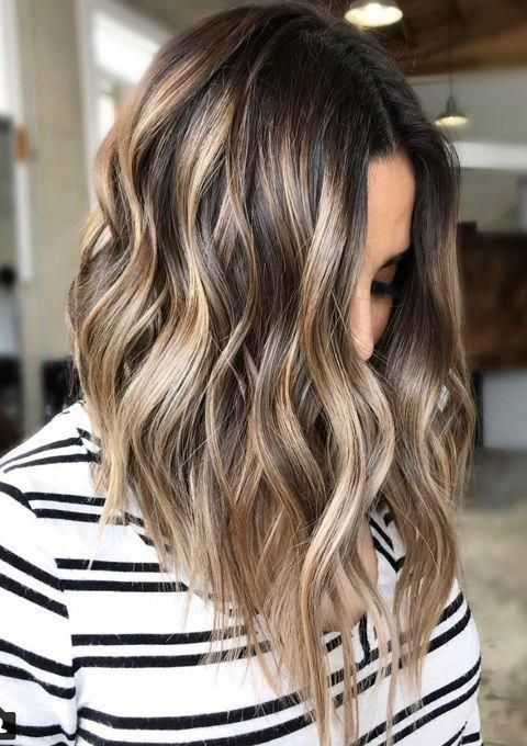 Best Trendy Hairstyles And Haircuts By Color In 2019 In 2020 Hair Color Balayage Hair Styles Hair Highlights