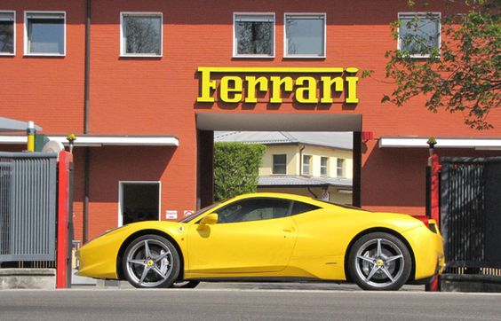 Maranello, Italy  Home of the Ferrari!