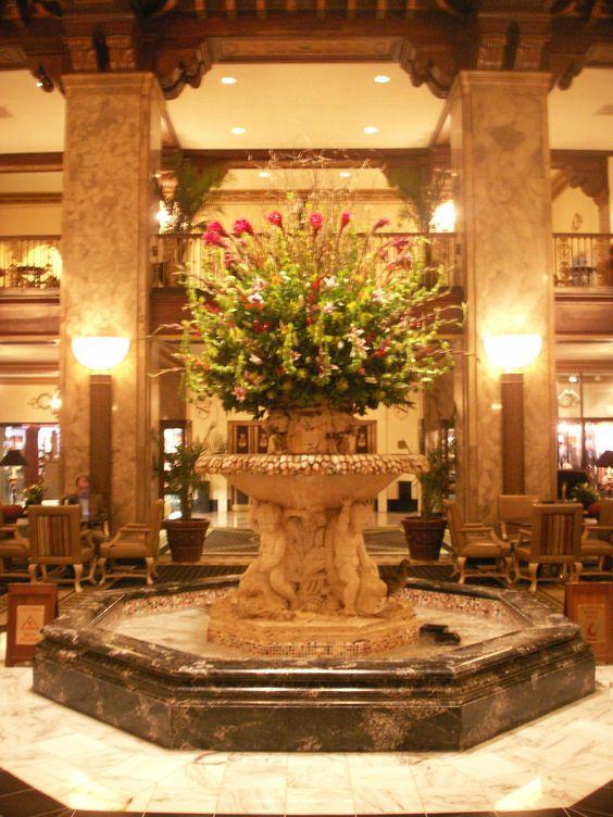 The Most Beautiful Lobby The Peabody Hotel Memphis Tn I Love Memphis Pinterest
