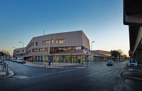 The Moulin Junior High School , Lille, 2015 - Chartier Dalix Architectes