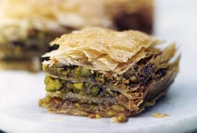 Baklava (Baklawa) Middle Eastern Pastry Recipe: