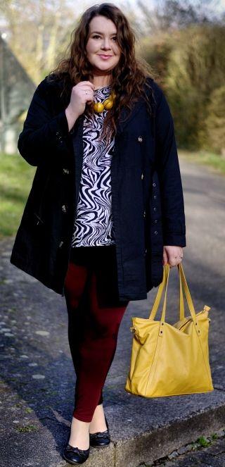 Zebra, yellow and burgundy