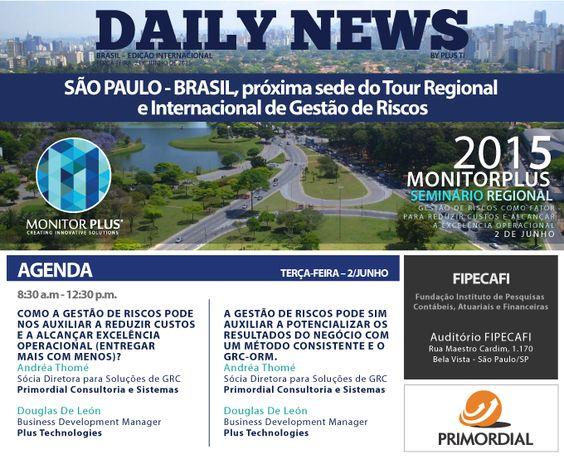 Seminário Regional Brasil - Plus TI e Primordial 2015