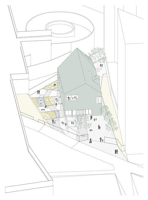 """Ludoteca """"Padiglione Infanzia"""" Andrea Trucillo, Michele Alberti, BLULAB_building landscape urbanism"""