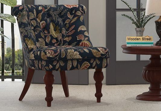 Ryan Lounge Chair Dusky Leaf Get Comfortable Loungechair Online In India At Best Price Only At Woodenstreet Choose Wooden Lounge Chair Lounge Chair Chair