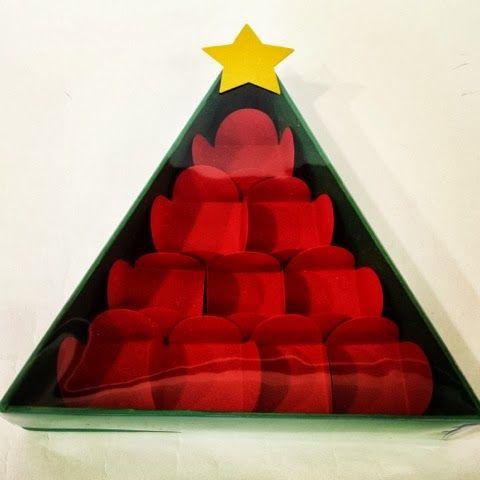 Caixa Montada: Caixa Árvore de Natal!!
