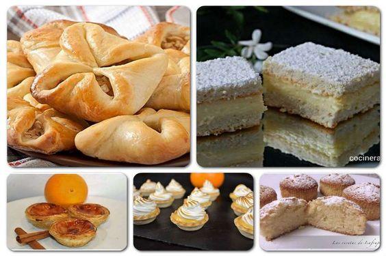 Pastas y pasteles un lujo en tu mesa