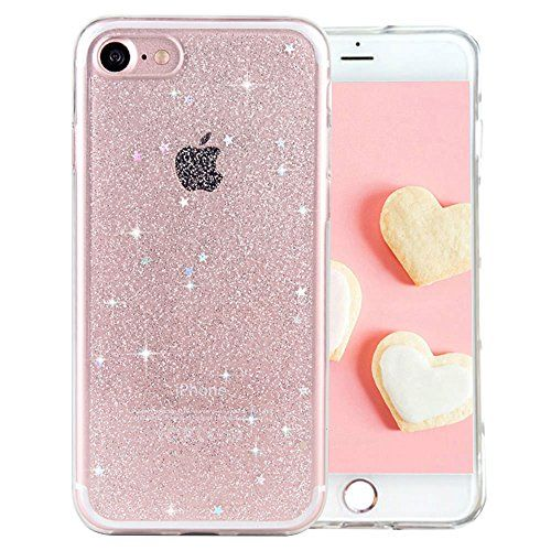 coque iphone 7 silicone paillette