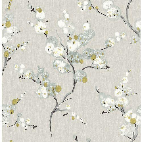 Bliss Blue Floral Wallpaper Nuwallpaper Blue Floral Wallpaper Wallpaper Samples