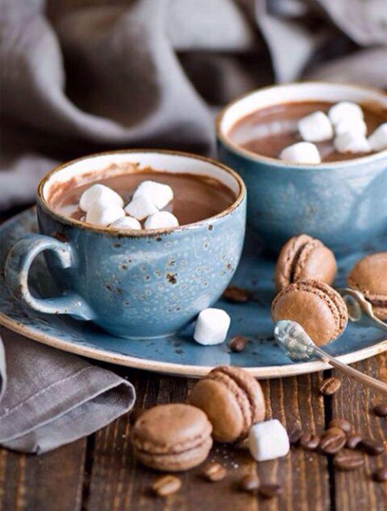 Les meilleures boissons chaudes de l hiver chocolat chaud aux guimauves: