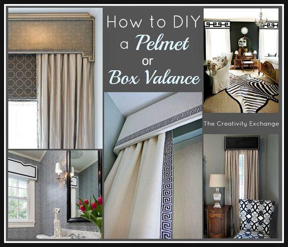 How To Diy A Pelmet Or Box Valance Valance Tutorial Tutorials And Window Treatments