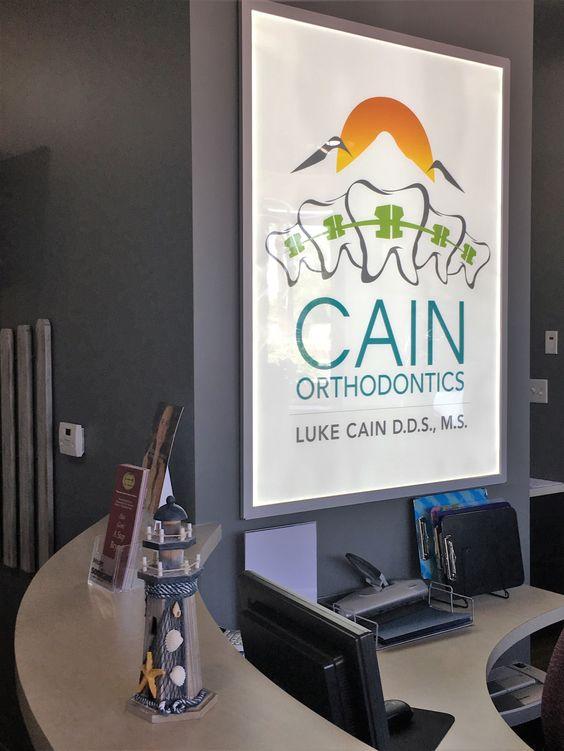 KatzDesignGroup designed the interiors for Cain Orthodontics in Litchfield Park, AZ
