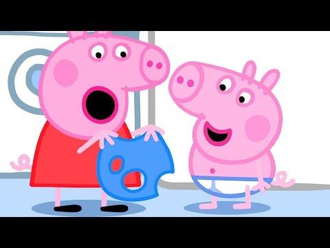 Pepppa Pig Official Channel Peppa Pig Finds Holes In George S Clothes Youtube Peppa Pig Memes Peppa Pig Peppa Pig Full Episodes