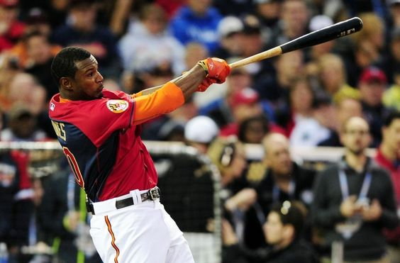 Adam Jones during the 2014 Home Run Derby