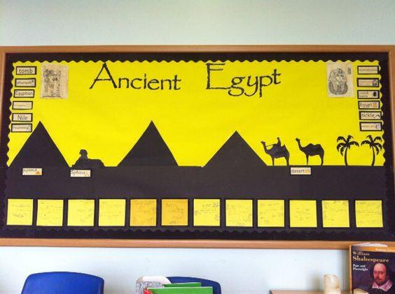Ancient Egypt Display by Liz Regan