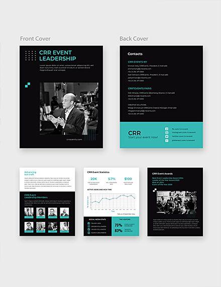 Free Sample Event Media Kit Media Kit Template Free Media Kit