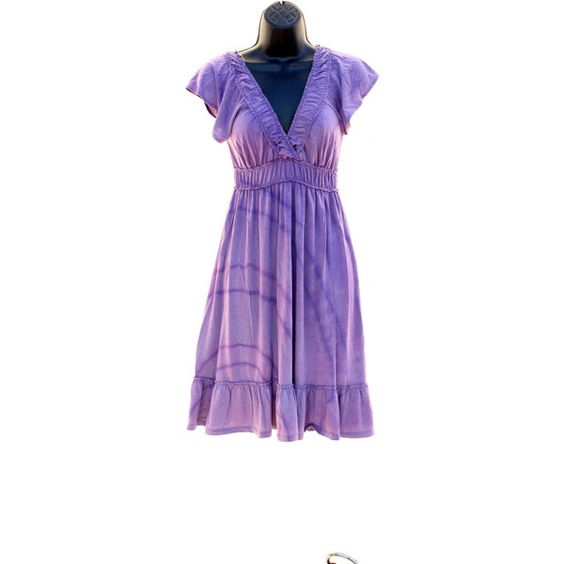 Tie Dye Upcycled Ladies Purple Dress (210 MXN) ❤ liked on Polyvore featuring dresses, light purple, women's clothing, lavender dress, cosmic dress, galaxy dress, purple galaxy dress and tiedye dresses