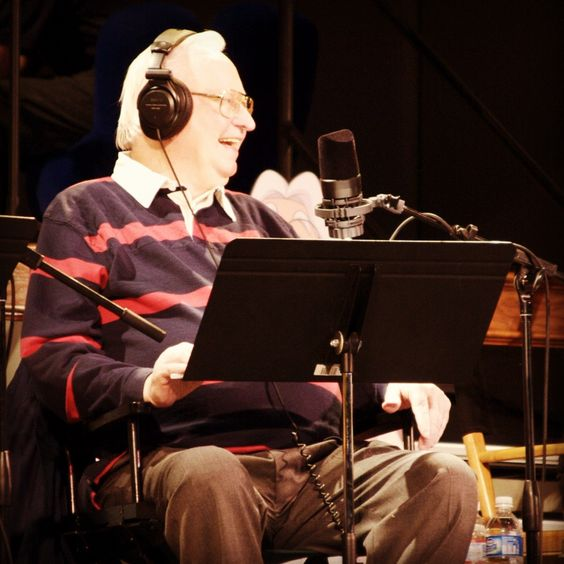 Dave Madden, the voice of Bernard Walton shares a laugh in the studio. What's your favorite AIO quote?