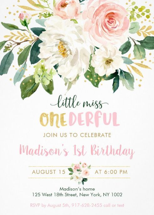 Miss Onederful invitation onederful invit 1st birthday invitation Miss onederful printable invitation Miss onederful birthday invitation
