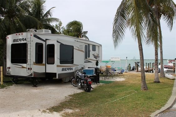 Riptide Carefree Rv Resort In Key Largo Florida