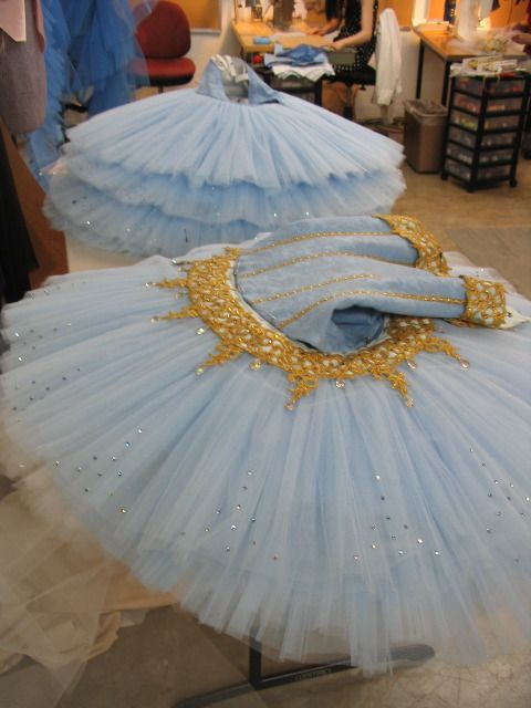 Oregon Ballet Theatre: News from the Costume Shop...I knew there was a lot of work that went into making these but this is crazy! Very cool to see: