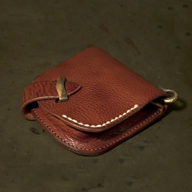 Leather Wallet with Coin Pouch 2
