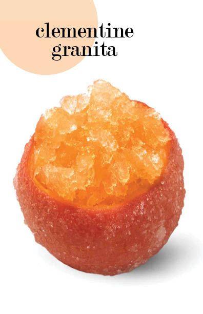 Clementine-Ginger Granita | Martha Stewart Living - This easy Italian ...
