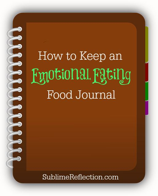 Are You An Emotional Eater We Share Practical Tips To: How To Keep An Emotional Eating Food Journal {Download