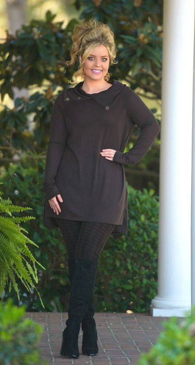 http://www.perfectlypriscilla.com/cute-as-a-button-tunic-brown/: