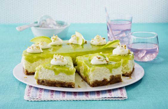 Unser beliebtes Rezept für Apfel-Milchreistorte mit grüner Haube und mehr als 55.000 weitere kostenlose Rezepte auf LECKER.de.
